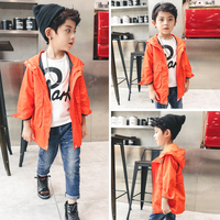 2018 Spring and Autumn Trendy Boys Sport Hooded Jacket New Arrival kids Polar Fleece Soft Shell Clothing Kids Outerwear 3 14T