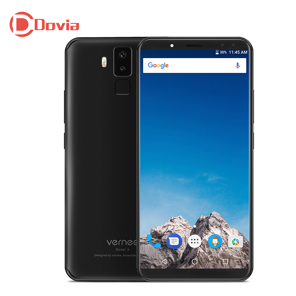 Vernee X 4G Phablet 6 0 Inch Android 7 1 MTK6763 2 0GHz Octa Core 6GB