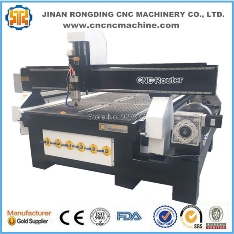 Hot Sale Woodworking Machine 4 Axis Cnc Router For Bending Wood/Curved Wood/Wave Wood