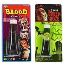 Хэллоуин Cos Поддельные крови/Моделирование человеческих вампиров человеческих зубов гематопоэтический/реквизит рвота съедобная пульпа