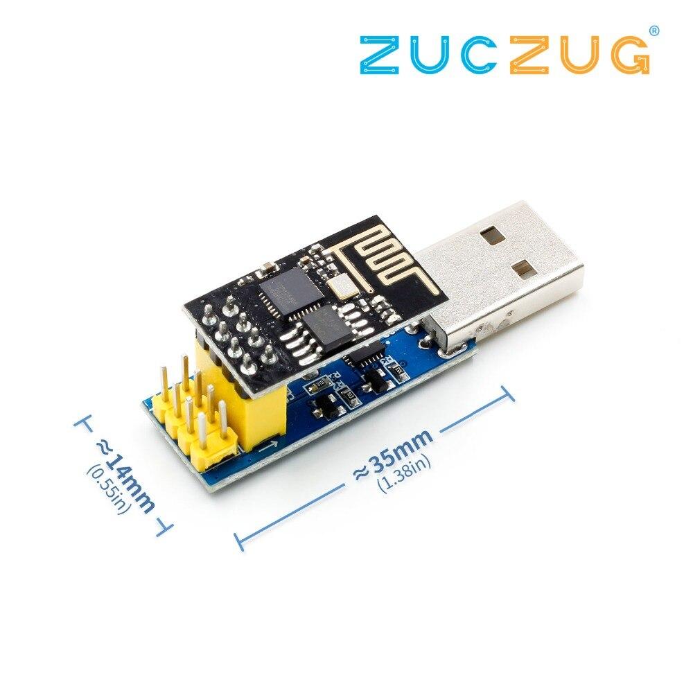 ESP8266 ESP-01/ESP-01S WIFI Module Adapter Download Debug Link DIY Kit for  Arduino IDE USB with ESP8266 ESP-01s