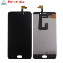 LCD Display For Umi Plus Screen LCD Touch Screen Assembly Original Quality For Umi Plus LCD Display Phone Parts Free Tools