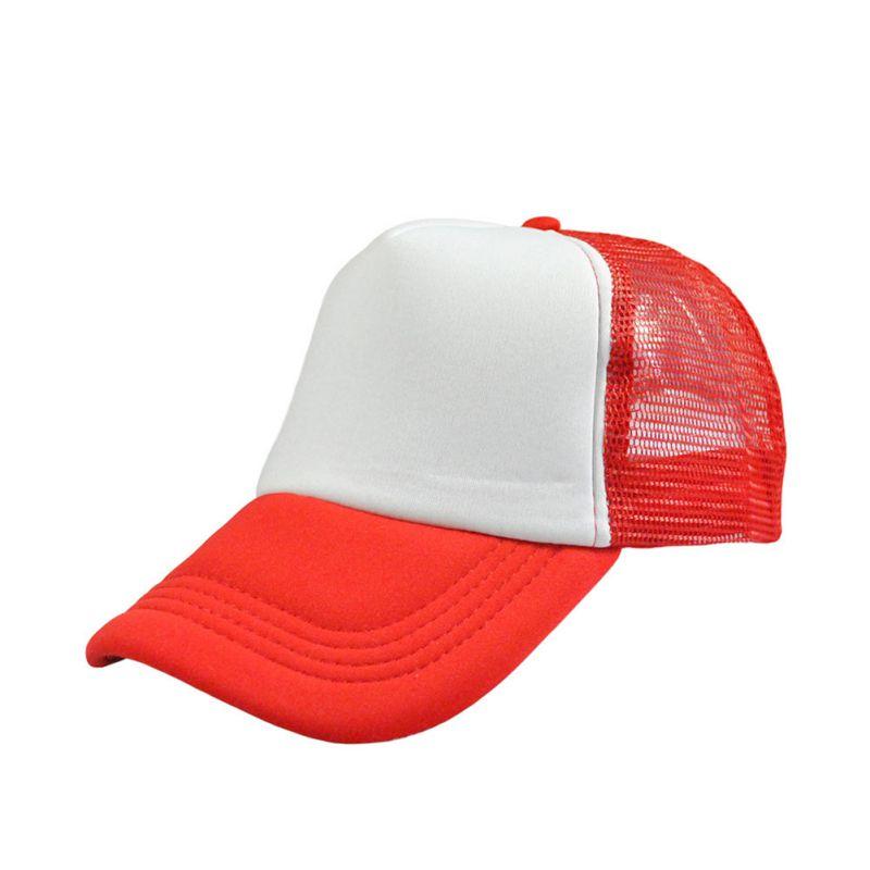 Men Women Unisex Plain Blank Curved Visor Hat Baseball Cap Solid Trucker Mesh Adjustable Caps basic adjustable baseball cap pigment dye hats monogram hat blank unisex adult clothing