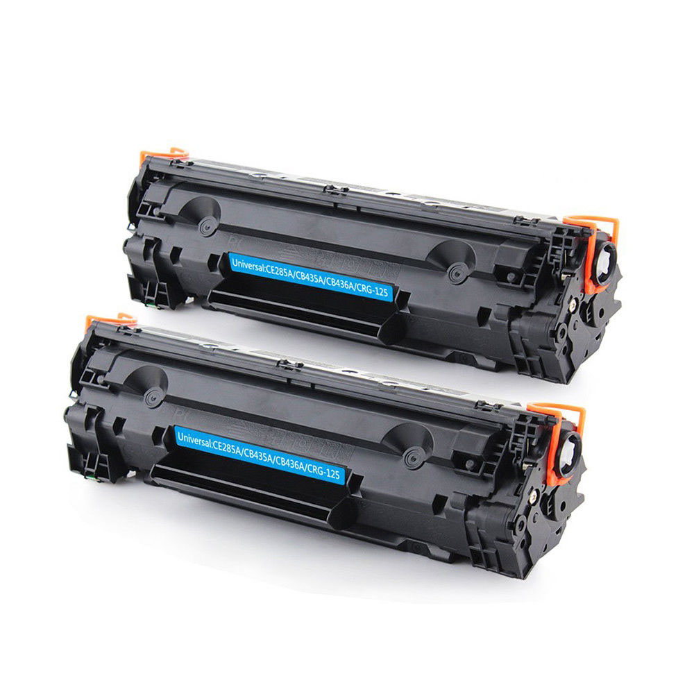 купить 2 Pack Compatible Toner Cartridge CE285A CE285 85A Used for HP LaserJet Pro P1102 HP LaserJet P1102W P1100 M1212NF MFP M1217NF по цене 1917.6 рублей