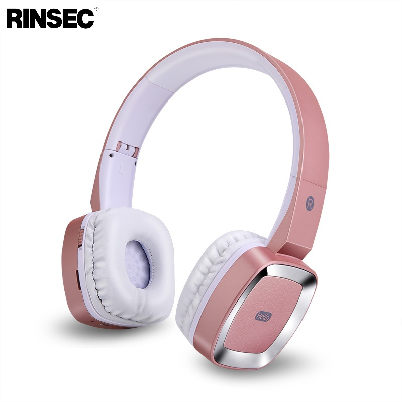 Rinsec T6 Bluetooth Wireless Headphone Stereo Music Headset with Microphone 3.5mm Wired Connection for iPhone Xiaomi Huawei bluetooth earphone headphone for iphone samsung xiaomi fone de ouvido qkz qg8 bluetooth headset sport wireless hifi music stereo