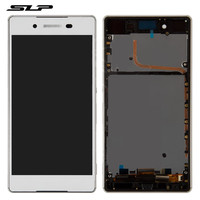 Skylarpu White Complete LCD For Sony E6553 Xperia Z3 Xperia Z4 Cell Phone Full LCD Display