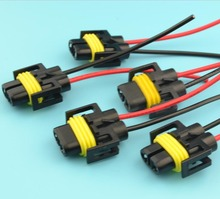 5pcs H8 H11 Female Adapter Wiring Harness Socket Car Auto Wire Connector Cable Plug For HID_220x220 popular h11 female socket buy cheap h11 female socket lots from  at reclaimingppi.co