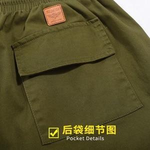 Image 5 - ฤดูใบไม้ผลิผู้ชาย Cargo กระเป๋ากางเกงดินสอกางเกงฤดูร้อน High Street PLUS ขนาด 6XL 7XL Mens Casual กีฬา Cool กางเกง Army ยืดสีเขียว