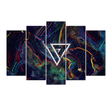 5 Pieces Abstract Canvas Wall Art Prints Wall Painting Poster Modern Canvas Art Picture For Living Room Home Decor Free Shipping