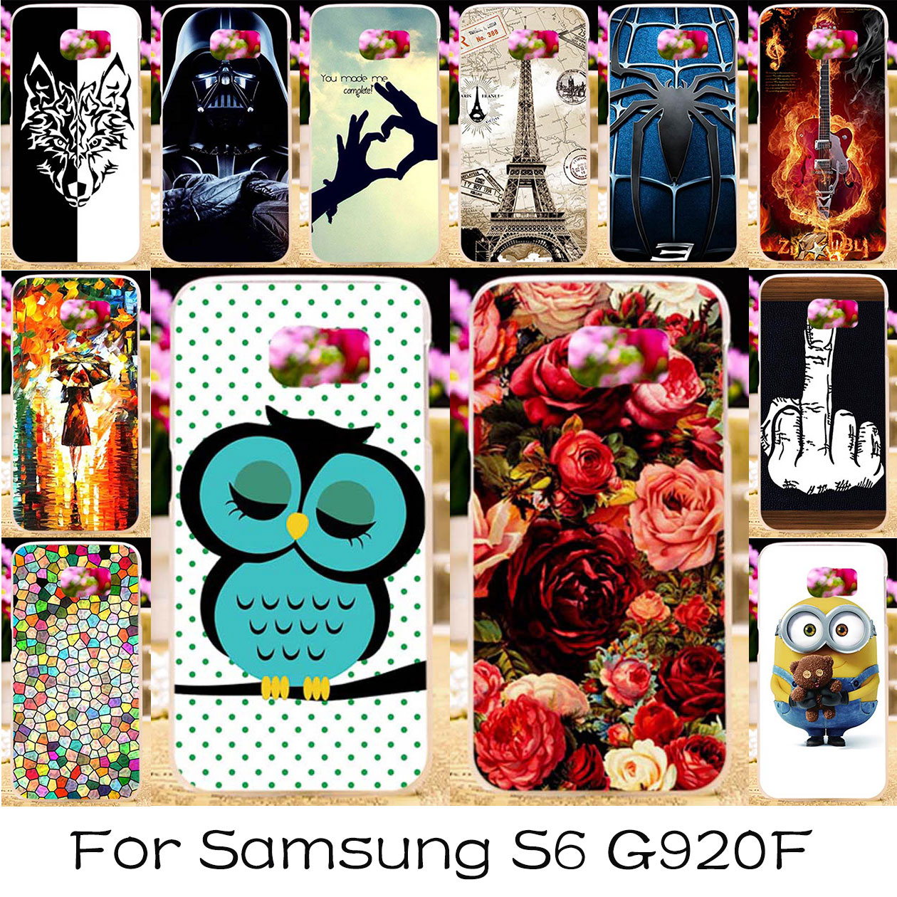 TAOYUNXI силиконовые Пластик Телефон чехол для samsung Galaxy S6 SVI крышка G920F G920FD G9200 G9209 G9200 G9208 G920S G920 сумка случаях ...