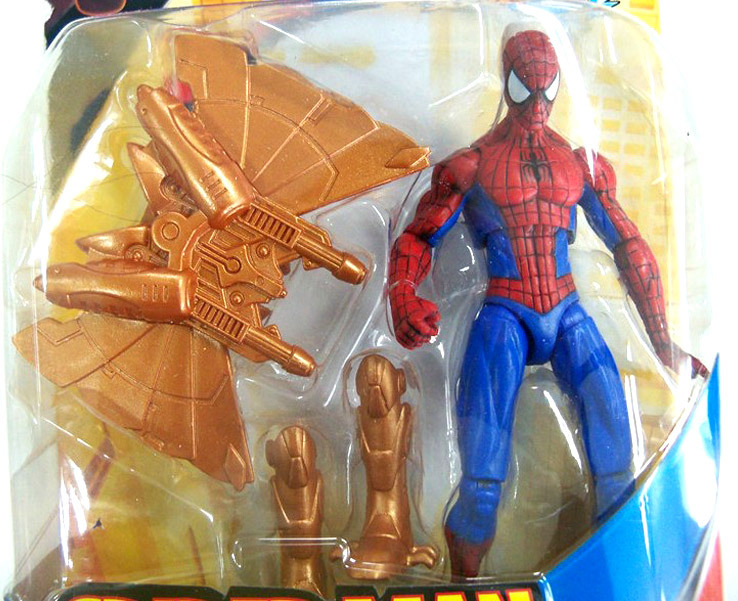 Spider Man In On Armor Hero Snap Classic Figure With Rocket Action CBoerxd