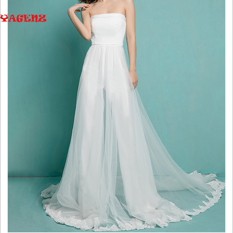Polyester / fiber 100% Ms summer Jumpsuits,Playsuits Bodysuits Bra tailing The wedding party party jumpsuit