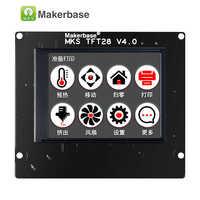 Écran tactile de l'imprimante 3d affichage MKS TFT28 support de panneau de contrôleur de couleur RepRap/WIFI/APP/panne économisant la langue locale