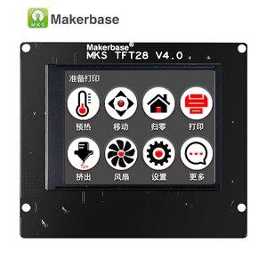 Image 2 - 3d מדפסת מגע מסך תצוגת MKS TFT28 תצוגת צבע RepRap בקר פנל תמיכה/WIFI/אפליקציה/הפסקת חיסכון מקומי שפה