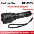 UniqueFire UF-1505 Инфракрасный Красный ИК 850nm Масштабируемые 1-режим ИК-Фонарик-Черный (1x18650)