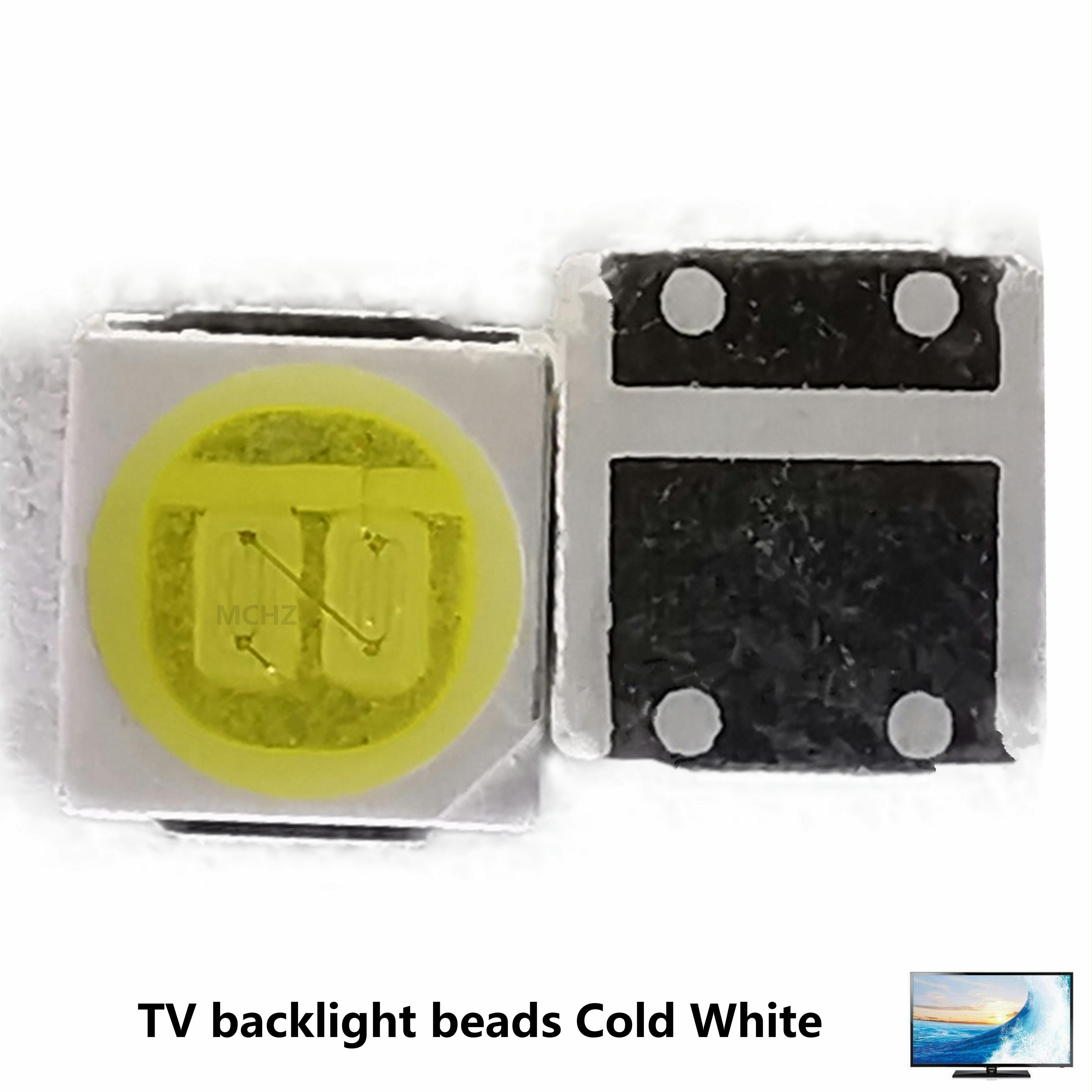 100PCS Factory Biggest Discount LED Backlight  Osram Replace Lg Jufei Seoul 3030 3528 2835 6-6.8V 2W 210LM Cool White 300MA