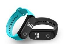 DTNO. Я A16 Bluetooth Smartband Сердечного ритма Монитор Сна браслет Шагомер Смарт браслет Водонепроницаемый Грузовые бесплатный