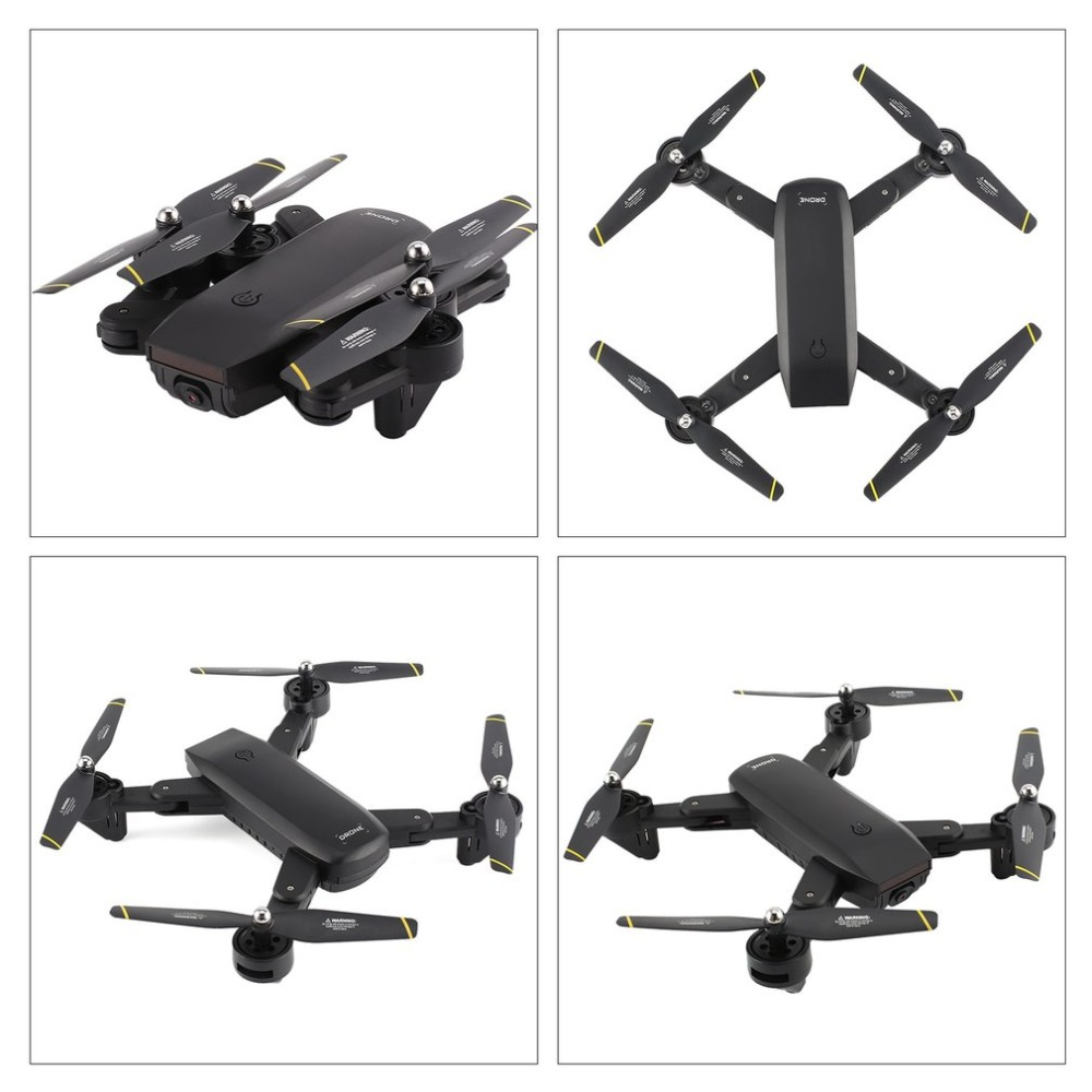 Foldable Quadcopter 2.4G RC Drone with 720P HD Wifi FPV Camera Optical Flow Positioning Altitude Hold Headless ModeFoldable Quadcopter 2.4G RC Drone with 720P HD Wifi FPV Camera Optical Flow Positioning Altitude Hold Headless Mode