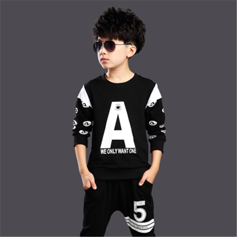 2017 new children's clothing summer boys and girls short-sleeved Korean fashion boys and girls short-sleeved Harlan suit