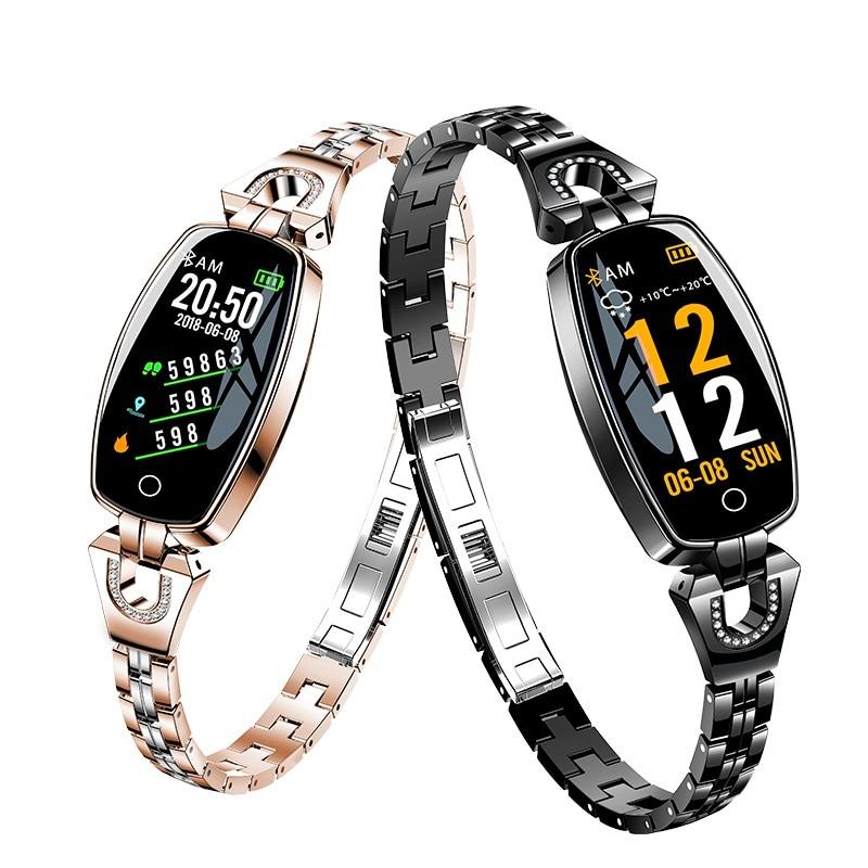 Women Smart Bracelet Watch Woman Heart Rate Monitor Calorie Pedometer Sport Watch Ladies Smartwatch Waterproof Intelligent Watch waterproof pulse heart rate monitor watch calorie counter sport exercise hmy