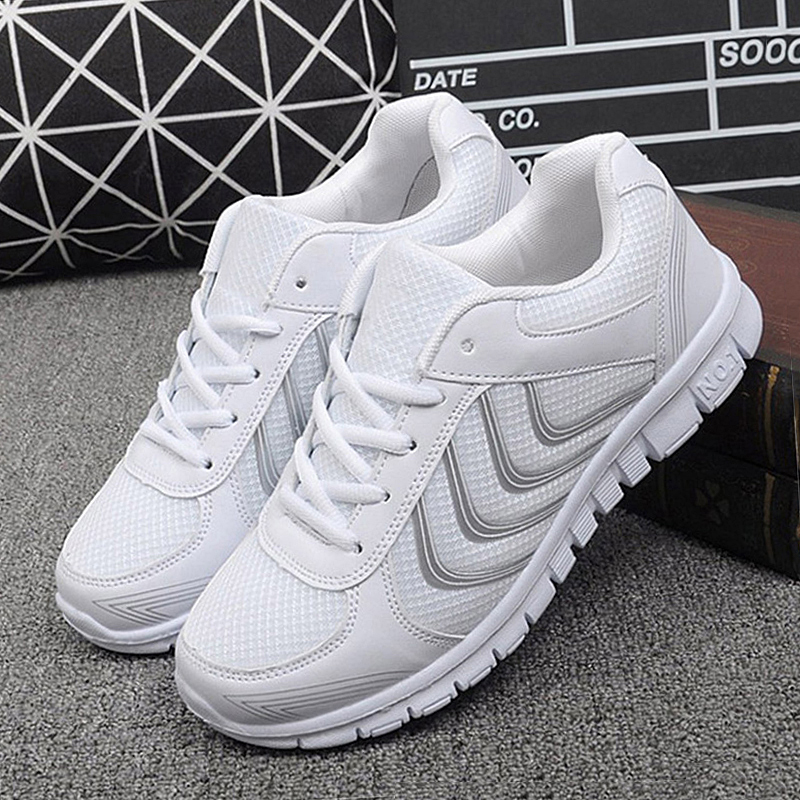 Women Casual Air Mesh Shoes Women Sneakers Female Summer Ladies Lace-up Tenis Feminino Casual Light Weight Breathable Shoes women shoes 2018 fashion hot breathable mesh summer shoes woman tenis feminino light lace up women sneakers casual female shoes