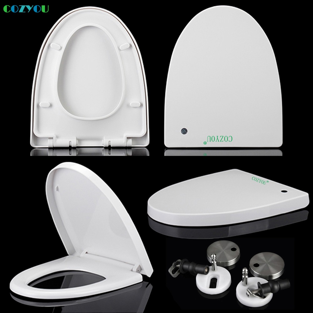 Excellent Us 71 62 V Elongated Pp Toilet Seat Soft Close Double Button Quick Release White Length 429Mm To 476Mm Width 370Mm To 390Mm Gbp17308Sv In Toilet Theyellowbook Wood Chair Design Ideas Theyellowbookinfo