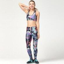 Purple Woman Yoga Sets 3D Print Fitness Suit Sport Wear Women's Slim Gym Pants Breathable Workout Clothing Tracksuit LNSTZ
