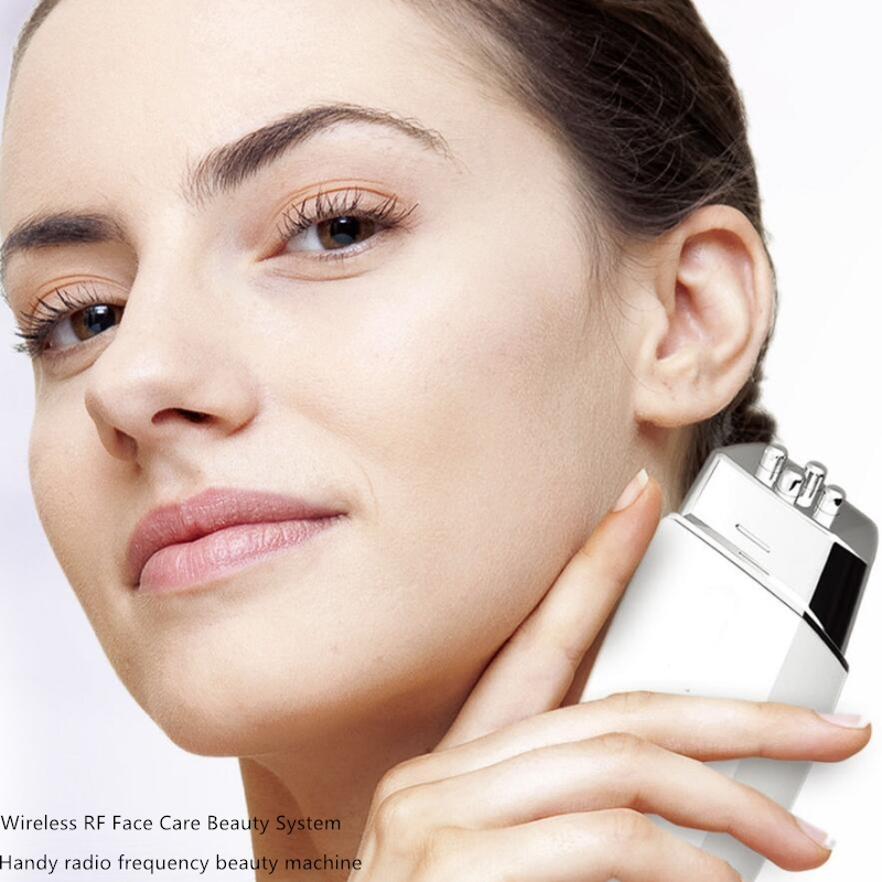 Handheld Massager Home Skin Wrinkle Care Wireless Skin Lifting Whitening Care Rejuvenation Face Care Beauty System RF skin care