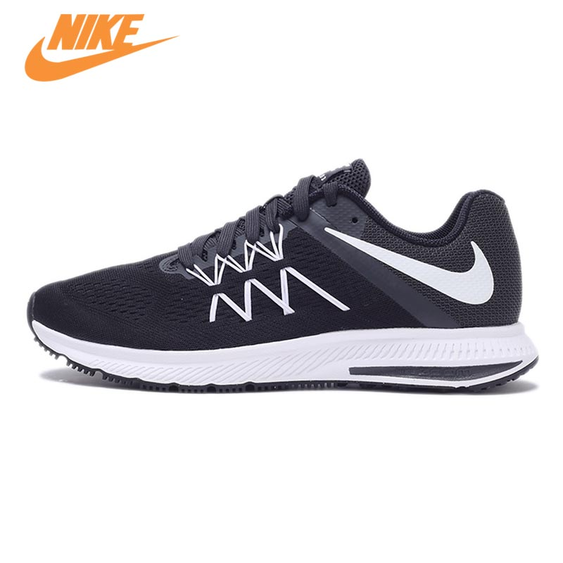 New Arrival Original NIKE Breathable ZOOM WINFLO 3 Men's Running Shoes Sneakers Trainers original new arrival 2016 nike air zoom pegasus 32 men s running shoes sneakers
