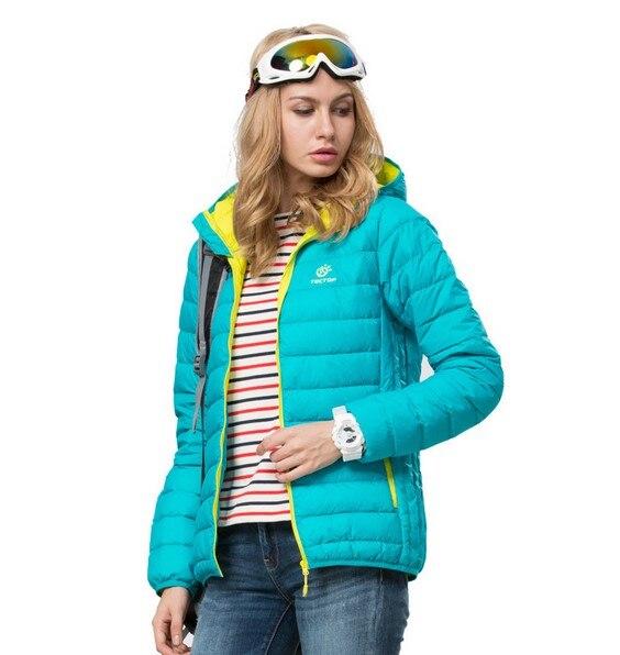 New 2015 Winter Jacket women Sports Face Down Jackets 90% White Duck Hooded Waterproof keep warm Outdoors large size light одежда больших размеров large size women 53214 mm 2015 200