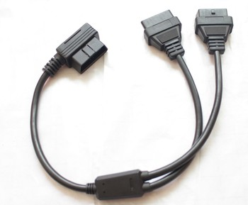Wholesale High Quality Car Diagnostic Cables And Connectors OBD2 Splitter Cable 50cm