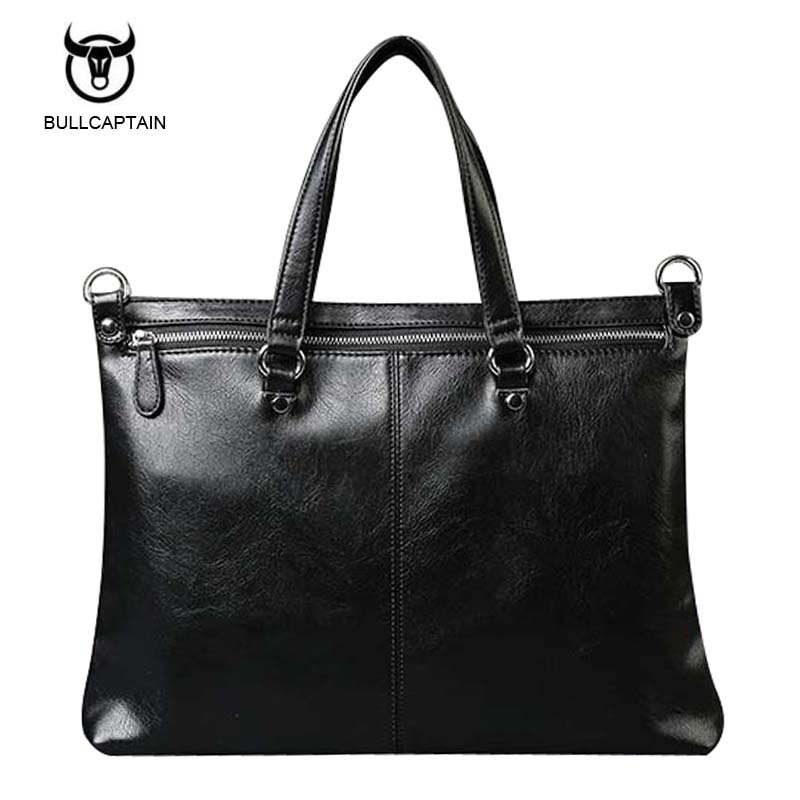 Bullcaptain 2017 Men Casual Briefcase Business Shoulder Bag Leather Messenger Bags Computer Laptop Handbag Bag Men's Travel Bags bullcaptain 2017 men casual briefcase business shoulder bag leather messenger bags computer laptop handbag bag men s travel bags
