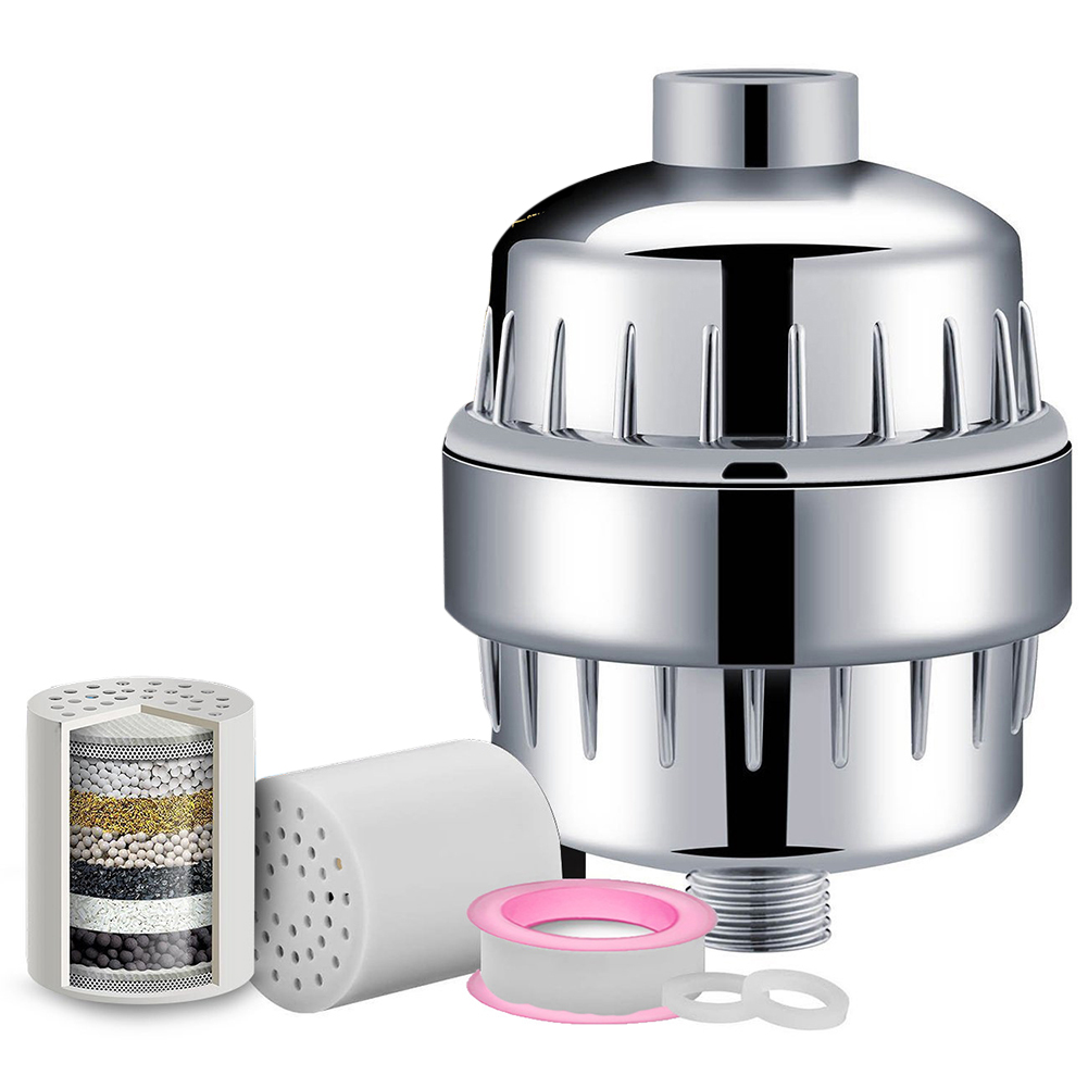 15 Stage Filtratie Purifier Douche Water Filter Chloor Fluoride Remover Badkamer Waterbehandeling Zuivering Accessoires