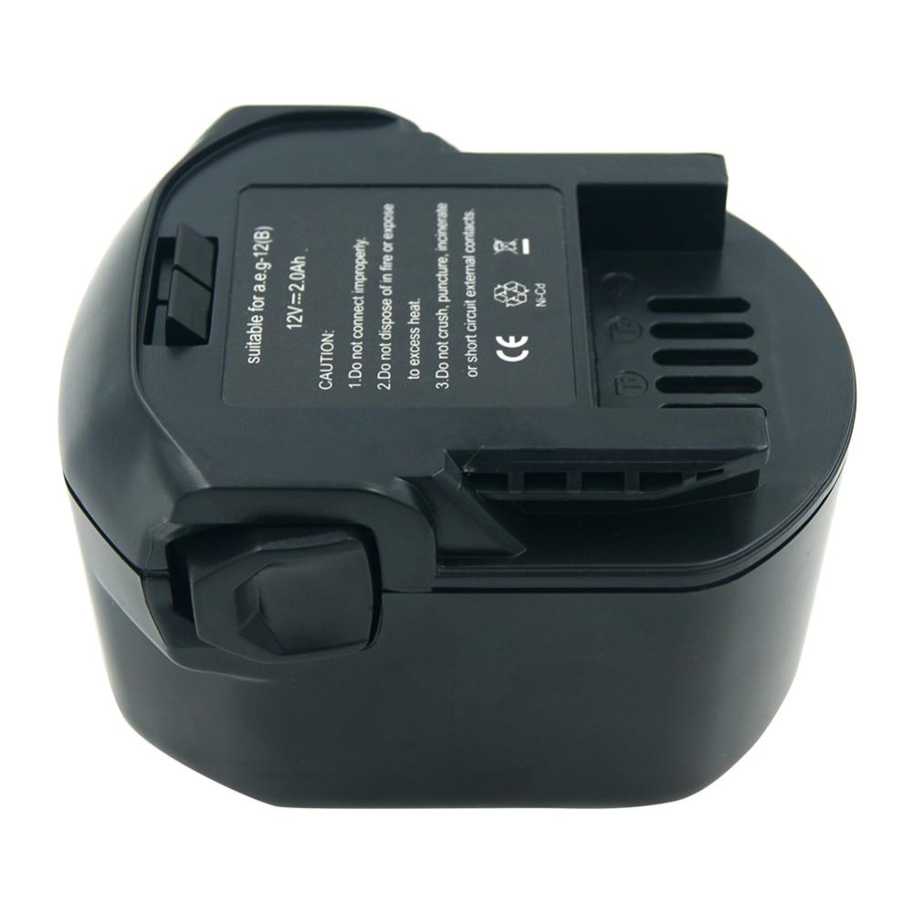 lerronx 12v 2 0ah ni cd rechargeable battery for aeg ridgid cordless on rothenberger 12v battery ridgid v battery schematic  [ 1000 x 1000 Pixel ]