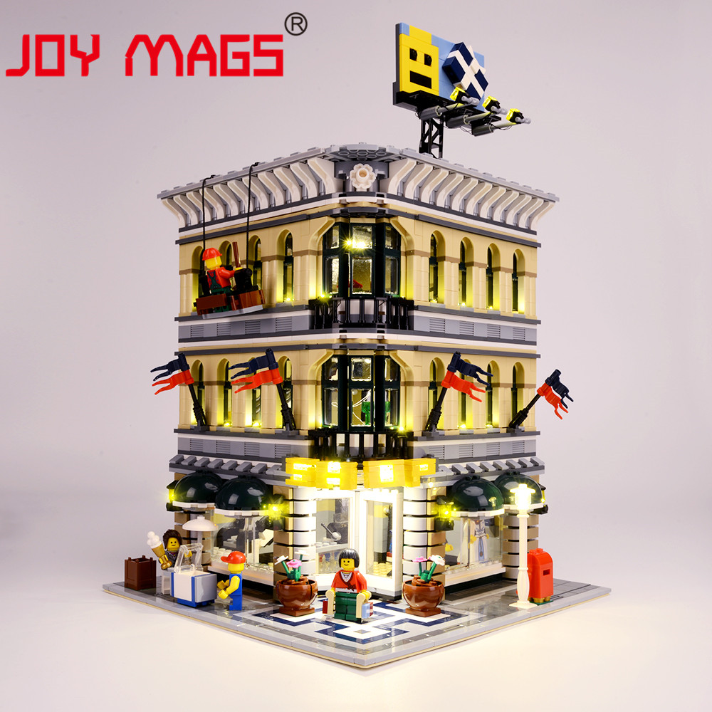 JOY MAGS Led Light Up Kit Led For Creator Grand Emporium Compatible With Model 10211 Excluding