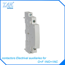 contactor electrical equipment WCTs Signal contacts to indicate the house hold contact on or off state contacts