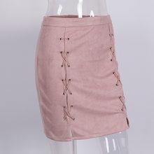 dd2cddd23 Mais recente de Alta Qualidade Mulheres Saia Rosa Clássico de Todos Os Jogo  Do Vintage Bandagem