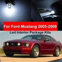 7pcs Super White Car LED Light Bulbs Interior Package Kit For Ford Mustang 2005 2009