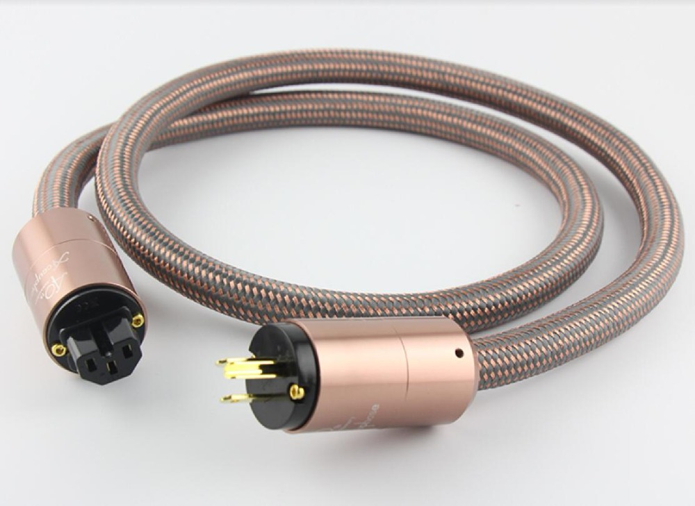 Image 2 - Hi End Hifi amplifier US/ EU /AU plug AC Cable Power Cord  Hifi audio vedio  power cable amplifier cable Japan Accuphase-in Speaker Accessories from Consumer Electronics