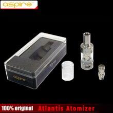 100% Original Aspire Atlantis Atomizer Rebuildable Tank Atomizer Airflow Adjustable Pyrex Glass 2.0ml Tank Atlantis