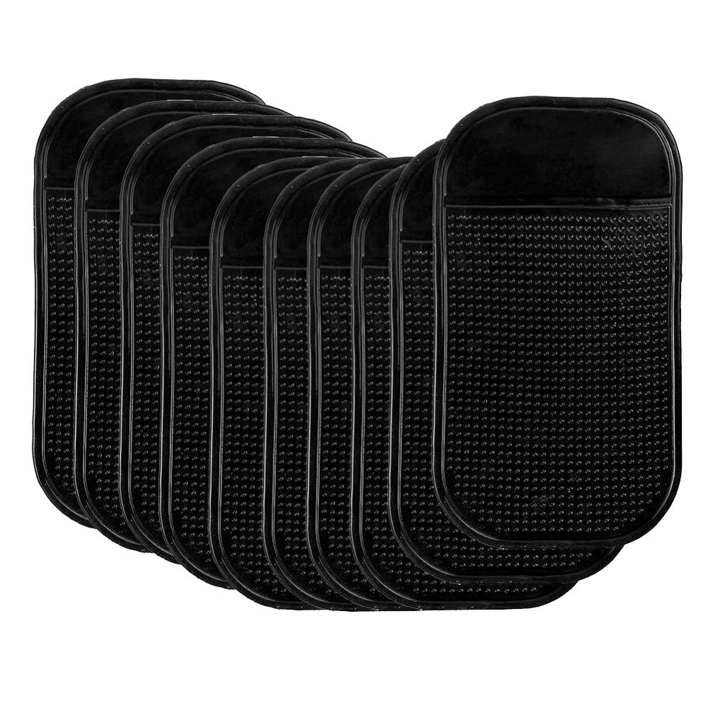 10 Uds Pad antideslizante para coche de Gel de sílice pegajoso tablero teléfonos móviles estante antideslizante Mat cojín para gafas de sol MP3 DVR soporte