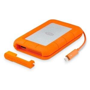 """Image 1 - Seagate LaCie Rugged 1TB 2TB 4TB Thunderbolt e USB 3.0 Portable Hard Drive da 2.5 """"HDD Esterno sport HDD per il Computer Portatile Desktop"""