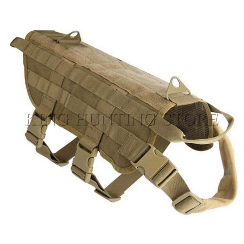 Tactical Hunting K9 Dog Training MOLLE Vest Harness Combat Dog Vest M L XL box clutch purse