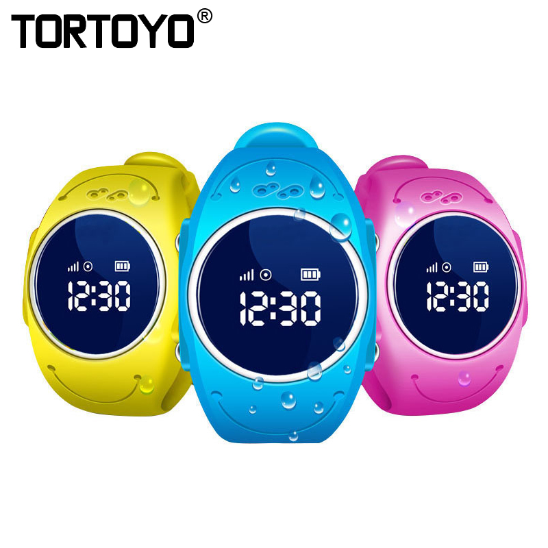 TORTOYO Q520S Waterproof Swim Smart Kid GPS Tracking Watch Phone Accurate GPS Positioning Wristwatch Alarm Wifi