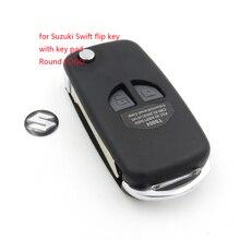 1 шт./лот пустой ключ ВЫСОКОГО Качества Новые 2 кнопки Отразить Дистанционная Ключевая для Suzuki Swift Grand Vitara Alto