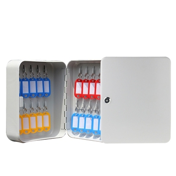 Montado En La Pared De La Clave De Bloqueo De Contraseña De Seguridad Keybox Caja De Almacenamiento Contiene 20 Tarjeta De Clave Para La Empresa Oficina En Casa