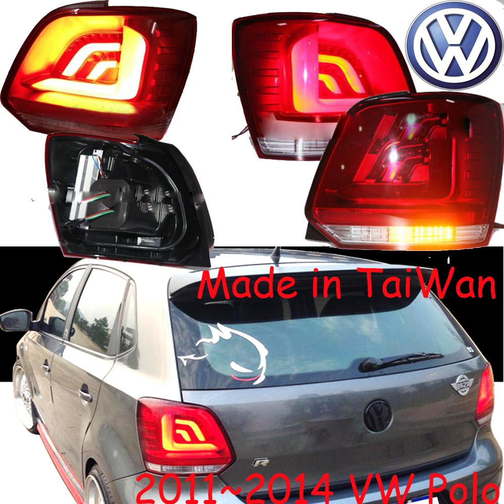 Polo taillight,2011~2014;Free ship!LED,2pcs/set,Polo rear light,Polo fog light;Touareg,Polo popular new polo polo modified gti taillight 11 13 new polo taillight modification