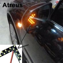 2 шт. автомобиль-Стайлинг поворота сигнала световой индикатор для BMW E46 E39 E60 E90 Ford Focus 2 3 H7 LED volkswagen Passat B5 B6 Гольф 4 VW