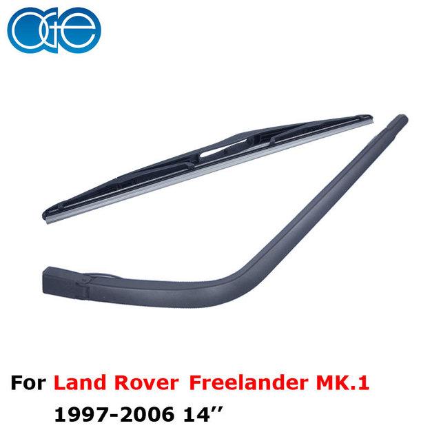 Brisas do carro oge profissional lâminas do limpador limpador traseiro braço e lâmina de 14 ''para land rover freelander mk.1 rlr05-1a