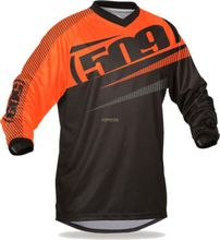 NEW Men s 509 martin Mx Mtb DH Motocross jersey elemento racewear downhill racing moto Black Orange XXL